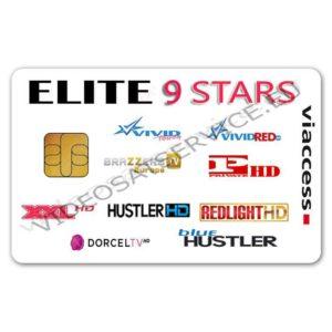 ELITE 9 STARS VIACCESS 9 CANALI