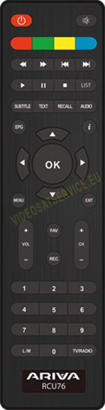 Telecomando_Ferguson T75